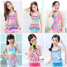 Children Swimwear Girls  Bathing Suit Women Swim Sexy One Piece Suits Kids One-piece Wears