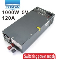 1000W 0 To 5V Adjustable 120A Single Output Switching Power Supply AC To DC 110V Or