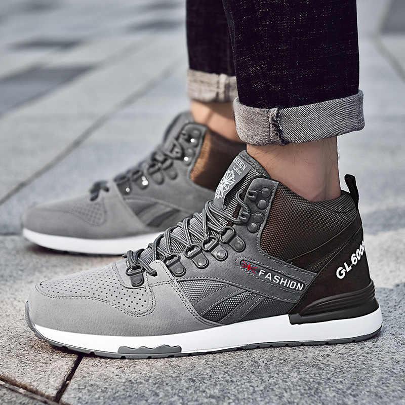 2019 Bahar Erkek Spor Ayakkabı Marka Erkek koşu ayakkabıları Nefes Sıçrama Spor Eğitmenler Yüksek Kaliteli Koşu Yürüyüş spor ayakkabı