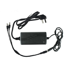 1 split 2 power cable adapter & 12V 4A CCTV power supply CBDZ Free Shipping