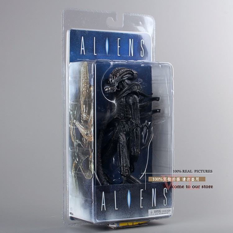 NECA Aliens 20th Century Fox PVC Action Figure Colection Toy Classic Toys 7 18CM MVFG086 neca the terminator 2 action figure t 800 endoskeleton classic figure toy 718cm 7styles