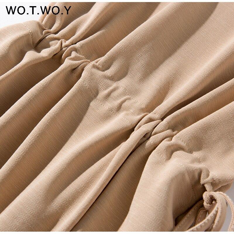 Long T-shirt Dresses Women Summer Sashes Waist Slit Casual O-Neck Short Sleeve Loose Ankle-Length Dress Woman Pink Cotton 32