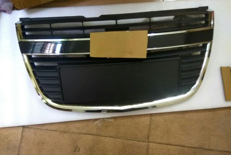 Front Grille Around Trim Front Grills Around Trim Racing Grills Trim For Chevy EPICA 2007-2012 ABS 1pc 2011 2012 for peugeot 508 abs chrome front grille around trim racing grills trim