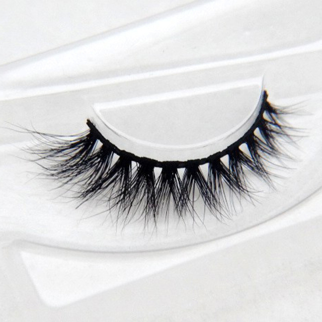 31f5eacbaf5 YOKPN 3D Multi-layer Mink False Eyelashes Simple Cross Natural Long Soft  Short Fake Eyelashes