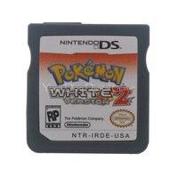 Nintendo NDS Video Game Cartridge Console Card Pokemon Series White 2 USA English Language Version