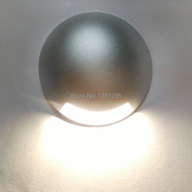 CREE Led Floor Decking Lights 12V 24V 1W 3W Led Underground Lighting IP67 Waterproof Buried Lamps Spot encastrable Sol Outside