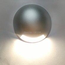 Светодиодный напольный светильник CREE, освещение для напольного покрытия, 12 В, 24 В, 3 Вт, IP67, углубленный наружный светильник для улицы, встраиваемый настенный, лестничный, террасный, Точечный светильник для плитки