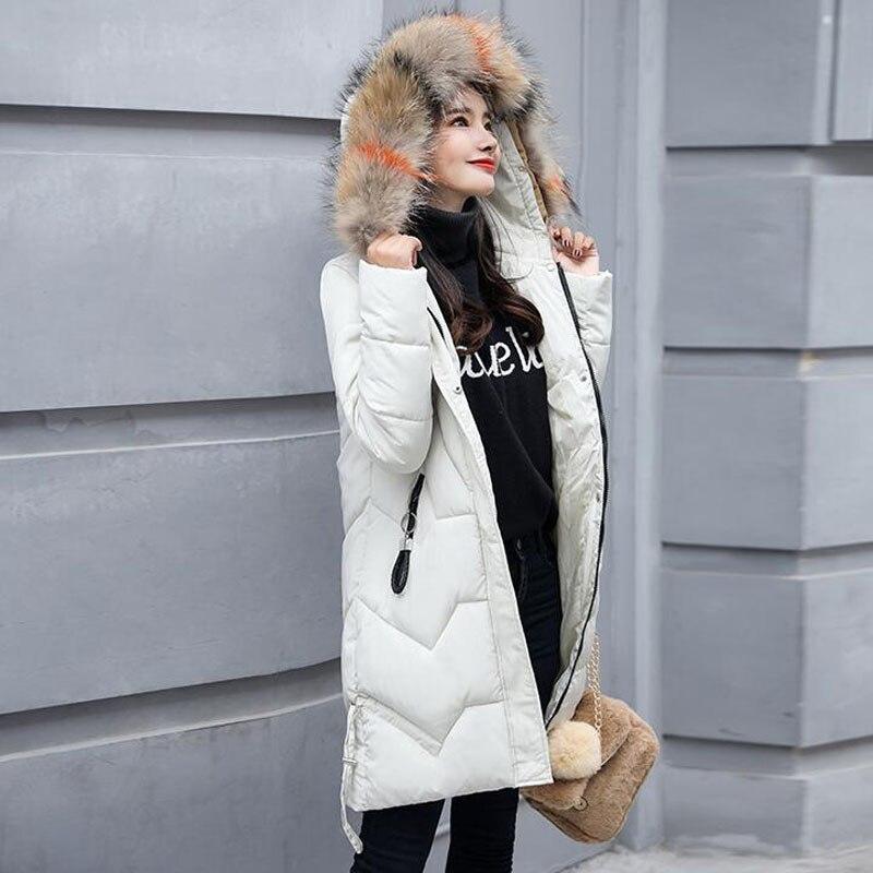 JKKUCOCO Newest Winter Jacket Women Fashion Solid Zipper Parka Coat Duck Down Jacket Women Thicken Outwear