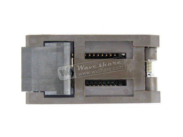 ФОТО Modules SOP28 SO28 SOIC28 FP-28-1.27-07 Enplas IC Test Burn-In Socket Programming Adapter 7.9mm Width 1.27mm Pitch