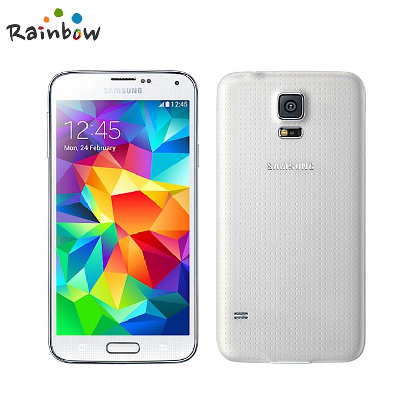 Samsung Galaxy S5 Original G900F 16gb 2gb GSM/WCDMA Fingerprint Recognition 16MP Refurbished