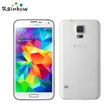 Разблокированный samsung Galaxy S5 G900F отремонтированный телефон 4G LTE gps wifi четырехъядерный 5,1 ''экран 2G ram 16G rom 16MP камера