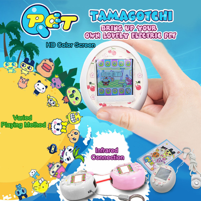 Hot !  for Tamagotchi Cartoon Electronic Pet Game Handheld game machine game Console Virtual Pet Kids Toy Gift 5