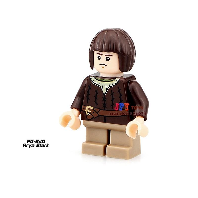 Single Sale star wars superhero marvel Game of Thrones Arya building blocks model bricks toys for children brinquedos menino