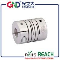 GND гибкий вал параллельные соединения D20xL26 алюминиевый электродвигатель шаг муфта мотора сервопривода кислотной базы муфта мотора
