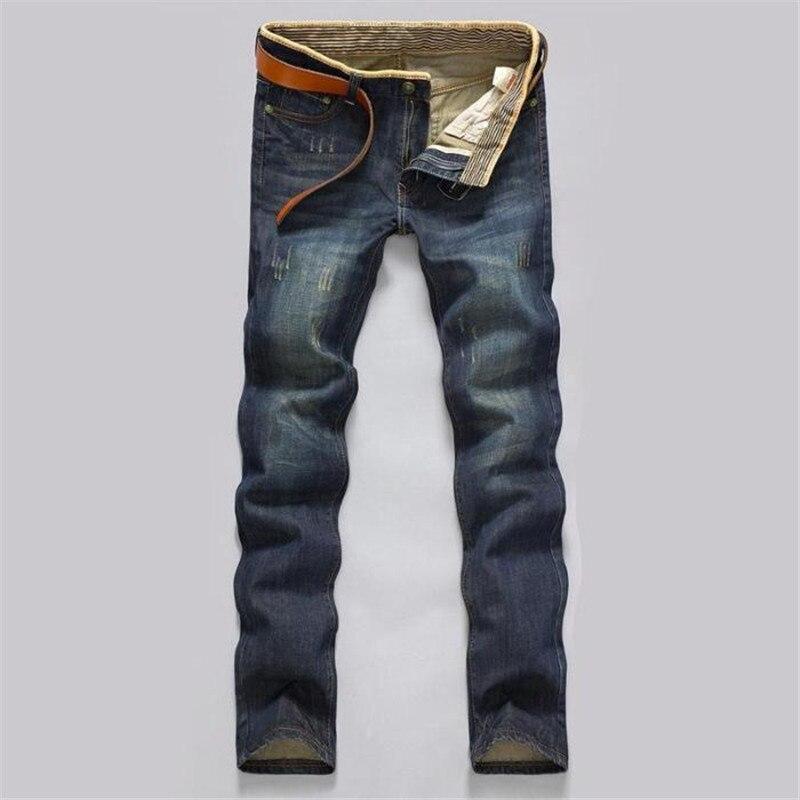 2018 New Fashion Mens Jeans Uomo Classic Biker Spijkerbroek Mannen Jogger Pantaloni Degli Uomini Di Jeans Baggy Slim Fit Hip Hop Casuale Materiale Selezionato