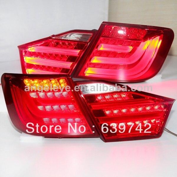 Camry Aurion LED zadní světla pro typ BMW pro TOYOTA 2012–2013 rok červená barva V2