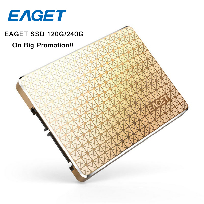 EAGET S606 2.5 Inch High Speed Internal Solid State Disk SSD 120GB HDD SATA 3.0 Shockproof SSD Hard Drive For Laptop Desktop Mac