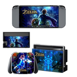 Image 2 - The Legend of Zelda Decal Vinyl Skin Protector Sticker for Nintendo Switch NS Console +Controller + Stand Holder Protective Skin