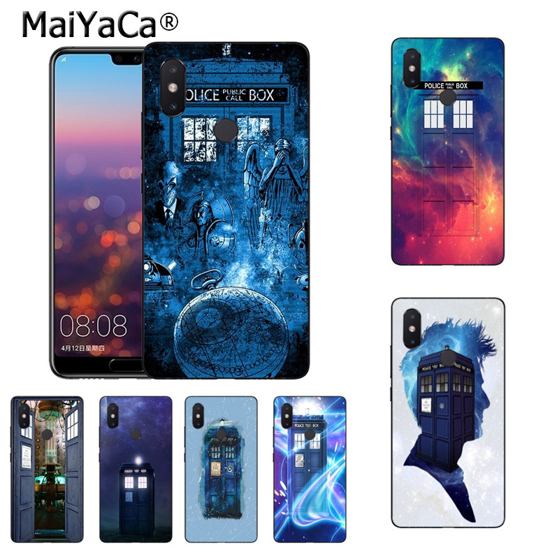 Maiyaca Tardis Box Doctor Who Tpu Black Phone Case Shell For Xiaomi Redmi 5 5plus Note4 4x Note5 6a Mi 6 Mix2 Mix2s Half-wrapped Case Phone Bags & Cases