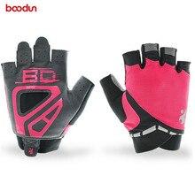 Boodun New Women Gym font b Gloves b font Non Slip Wear resistant Sport Fitness font
