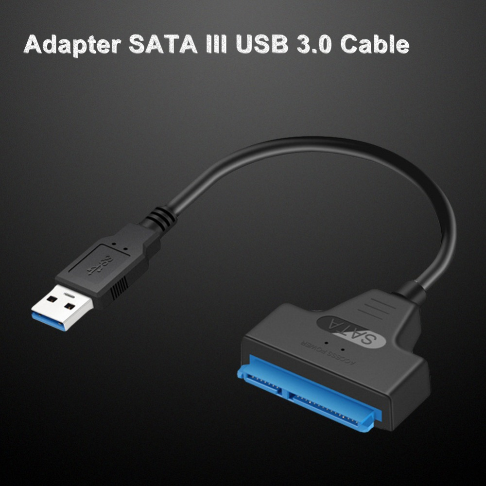 Image 4 - USB 3.0 SATA3 III cable for  Hard Drive Adapter 2.5 Inch SSD & HDD Support Up To 6 Gbps   Support UASP 20cm Install Computer-in Computer Cables & Connectors from Computer & Office