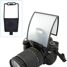 Worldwide Camera Flash Diffuser Softbox Black Clear Reflector for Canon Nikon Yongnuo Speedlite Wholesale(China)