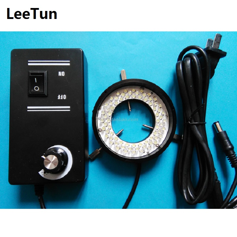 72 LED Ring Light Industrial Camera CCD Light Source with Diffuser Inner Diameter 40mm LED Vision Lamp for Stereo Microscope monocular microscope light microscope ring light led lamp led high brightness light source inside diameter of 40mm