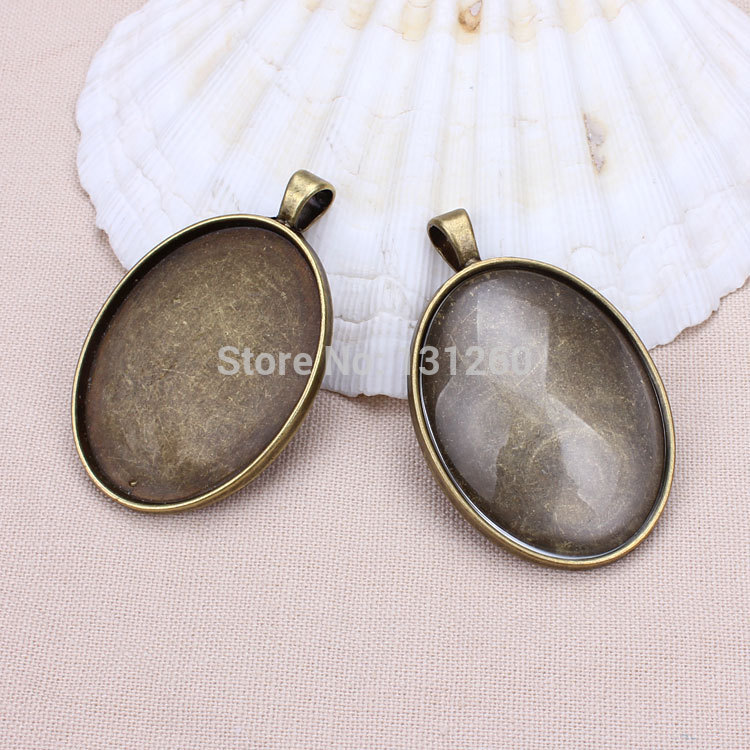 Buy 10pcs lotantique bronze metal alloy33 for Jewelry making supply store