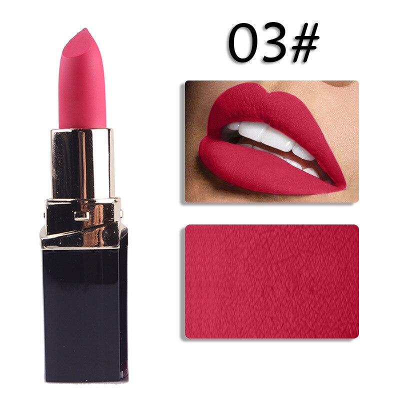 En gros 24 pièces/ensemble 42 couleur hydratant mat rouge à lèvres étanche rouge à lèvres longue durée rouge à lèvres pour les femmes outils de maquillage des lèvres - 5
