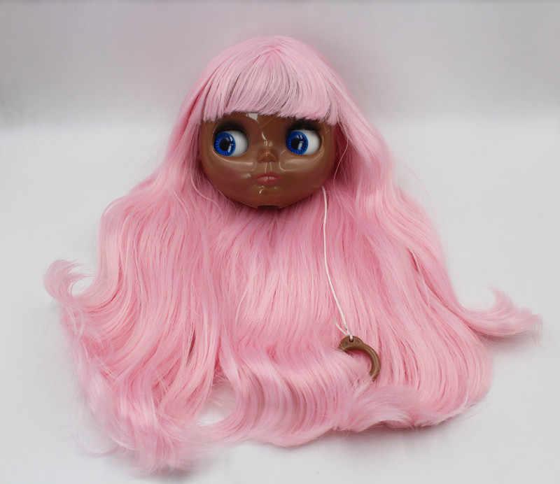 O Envio gratuito de big desconto RBL-584J DIY Nude Blyth 4 cor dos olhos grandes boneca de presente de aniversário da boneca para a menina com a bela cabelo bonito brinquedo
