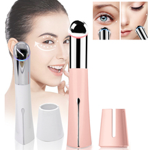 Face Eye Massager Soin Visage Lifting Wrinkle Anti Aging Dark Circles Machine Ultrasonido Vibration Beauty Skin Care Tools