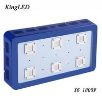 Best Blue Color 1800W LED Grow Light Full Spectrum BESTVA X6 For Indoor Plants Growing Flowering High Yield LED Grow Light