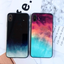 LISM Hot Luxury Starry Sky Tempered Glass Phone Case Cover For OPPO R11 R11S Plus R17 Pro R15 A5 Anti-knock Protector женское бикини sky 6613 r17