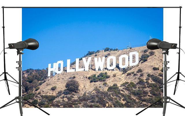 7x5ft Classic Hollywood Base Photography Background landscape Backdrop Photo Studio Holiday background