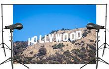 Base de Fotografia Fundo 7x5ft Hollywood Clássico paisagem Cenário Photo Studio fundo Do Feriado