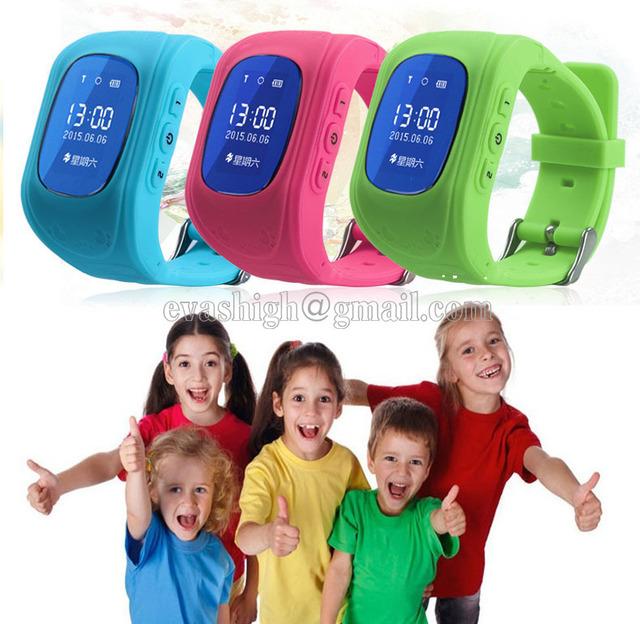 Relógio do telefone inteligente relógio crianças rastreador gps GSM relógio de pulso anti-lost smartwach crianças guarda baby monitor sos localização GPRS Q50