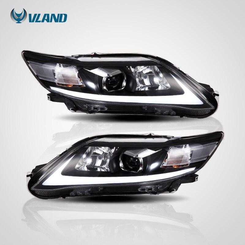 Vland Car Styling Headlight For Camry V40 Led Head Light 2009 2010 2011 Head Lamp One Year Warranty Car Light Assembly - 3