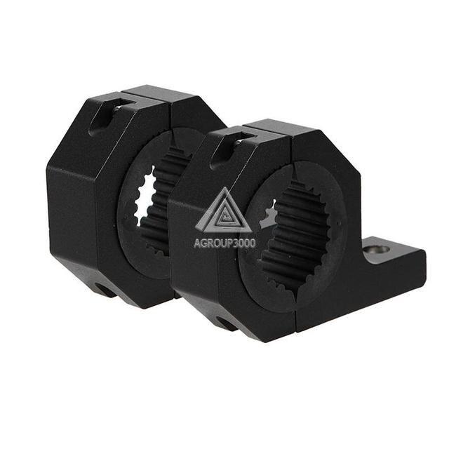 LED Luz de Niebla del Proyector Soporte De Montaje Universal 4x4 Todo Terreno ATV Coche Jaula Tubo Abrazadera de la Barra De Toro soporte de 35mm ~ 50mm