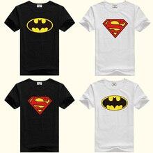 DMDM Pig с рисунком Бэтмена, пижама с рисунком Супермена короткий рукав футболки для Одежда для мальчиков и девочек детская одежда футболка Размеры на возраст 2, 3, 4, 5, годы детская одежда футболка