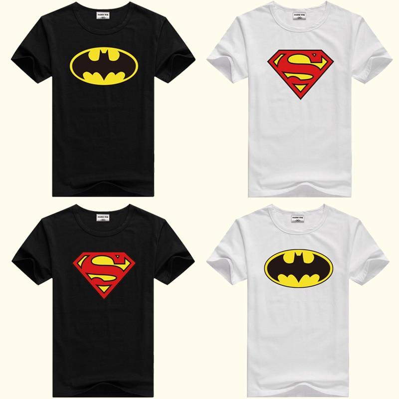 DMDM PIG Batman Superman Short Sleeve T-Shirts For Boys Girl Tops Kids Clothing TShirt Size 2 3 4 5 Years Baby Clothes Tee