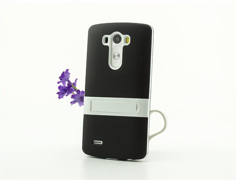 Ultra-thin PC Frame TPU Soft Cover Silicon Case for LG G4 Matte Feel - Բջջային հեռախոսի պարագաներ և պահեստամասեր - Լուսանկար 6