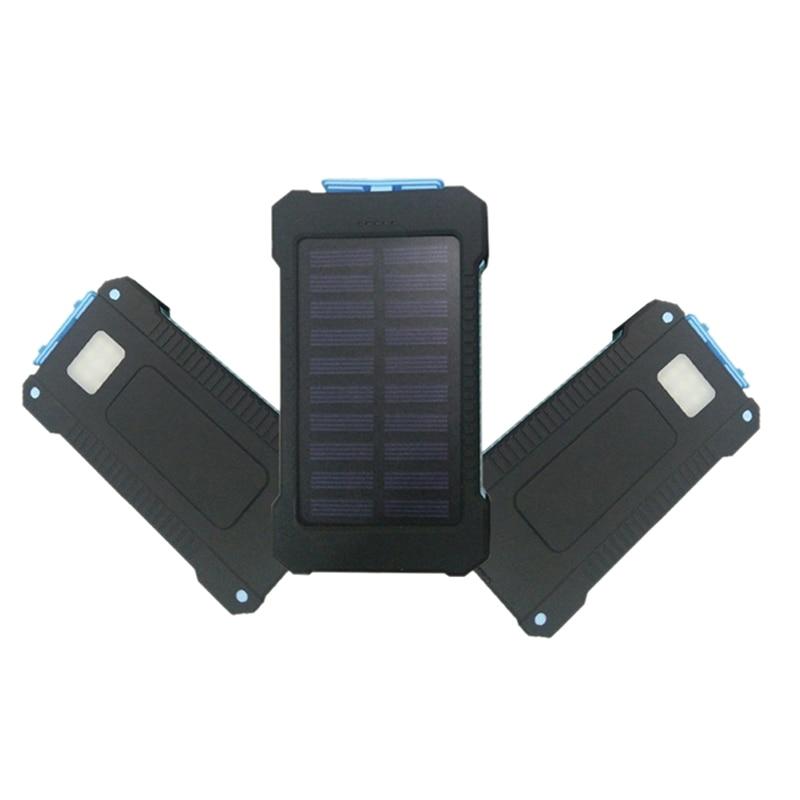 Battery Charger Cases No Battery Solar Led 50000mah Power Bank Charger Case Kit Diligent 1pcs 14.9cm X 7.4cm X 1.8cm Diy Waterproof Dual Usb