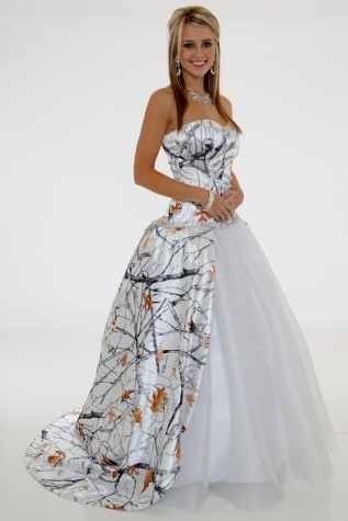 Detachable Train White Camo Wedding Dresses 2019 Vestido De Noiva