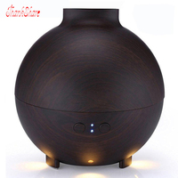 NEW Light Wood Ultrasonic Mini Electric Mist Humidifier Insence Aroma Diffuser For Home Office Use Free