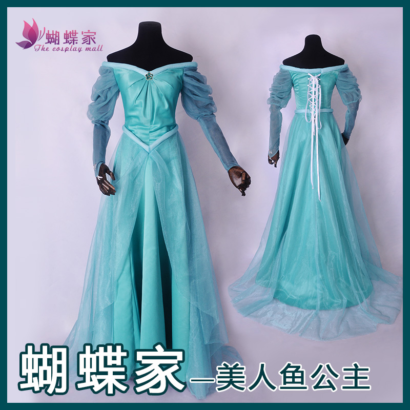 halloween mermaid ariel princess dress cosplay adult ariel mermaid costume women mermaid princess ariel dress cosplay princess ariel dress halloween costumes fancy the little mermaid ariel cosplay costume mermaid costume green party dress