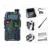 Promoción camuflaje baofeng uv-5r vhf uhf de doble banda walkie talkie de mano de dos vías de radio cb