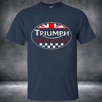 Fashion Men T Shirt Short Sleeve TRIUMPH MOTORCYCLES Crossfit Printing Casual T Shirt Male Tops Shirt