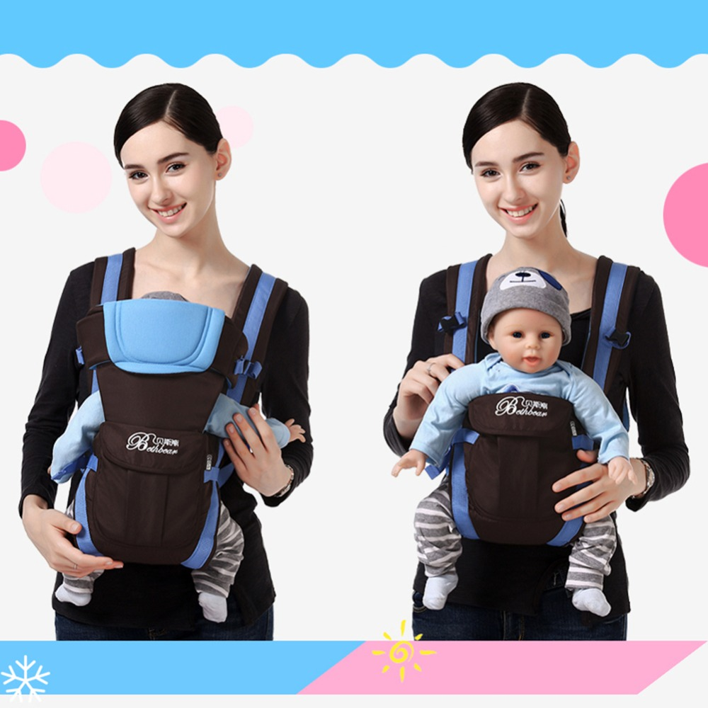 0 24 Months Breathable Front Facing Baby Carrier Infants Baby Sling Backpack Kangaroo Bags Child Thickening Suspenders Backpacks in Backpacks Carriers from Mother Kids