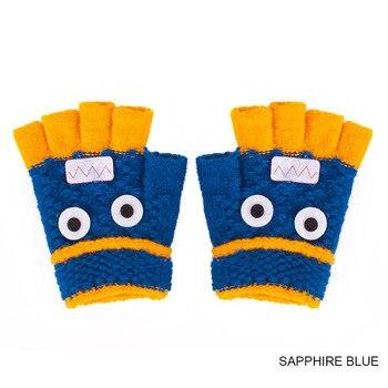 Χειμερινά θερμά μάλλινα γάντια παιδιά με ελεύθερες τις άκρες των δαχτύλων Παιδικά Ρούχα Ρούχα MSOW