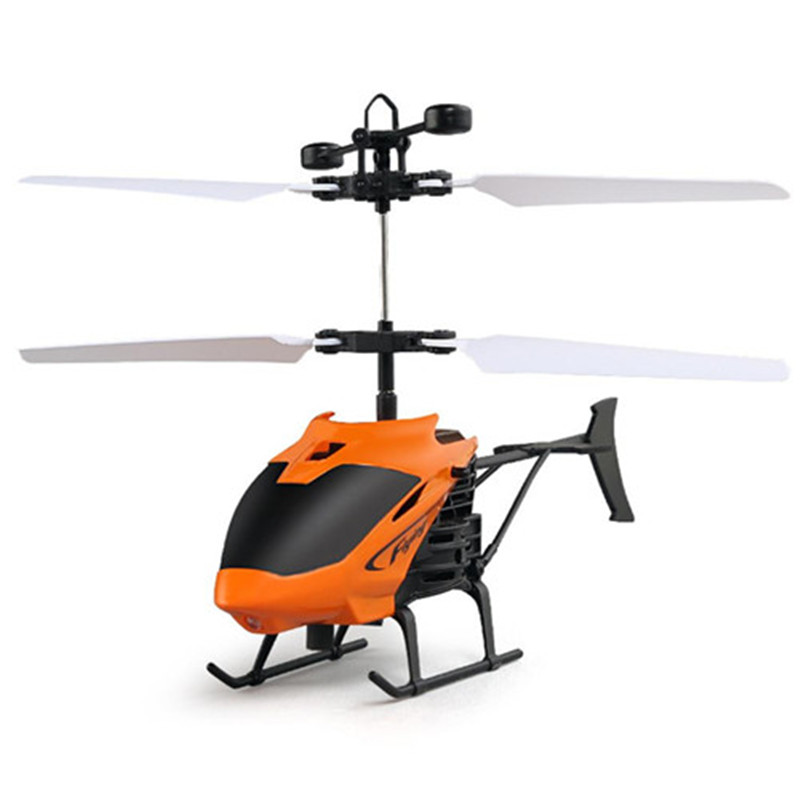 Nouveau jouet Volant Mini RC Infraed Induction Hélicoptère Avions Clignotant Lumière Jouets Pour Enfants Un # DROPSHIPPING